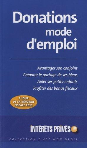 Donations mode d'emploi - Groupe Revue Fiduciaire - 9782757903667 -