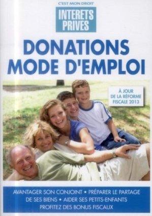 Donations mode d'emploi - Groupe Revue Fiduciaire - 9782757904558 -