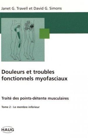 Douleurs et troubles fonctionnels myofasciaux Tome 2 - haug international - 9782804340148 -