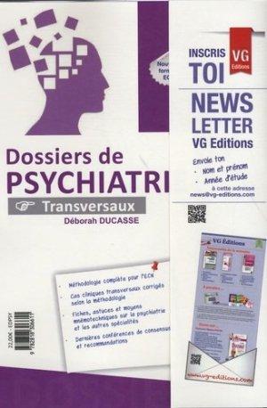 Dossiers de psychiatrie - vernazobres grego - 9782818306611 -