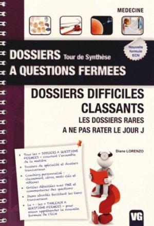 Dossiers difficiles classants - vernazobres grego - 9782818308158 -