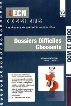 Dossiers difficiles classants - vernazobres grego - 9782818314234 -