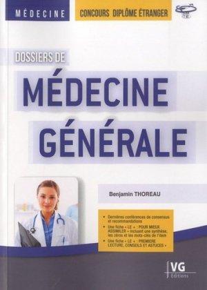 Dossiers de Médecine générale-vernazobres grego-9782818316108