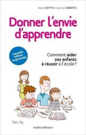 Donner l'envie d'apprendre - Ixelles éditions - 9782875151827 -