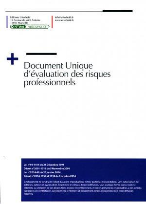 Document unique Métier : Architecte - Agence d'Architecture - uttscheid - 9791034108688 -