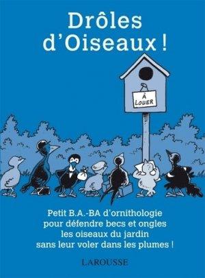 Drôles d'Oiseaux ! - larousse - 9782035871855 -