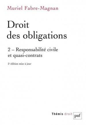 Droit des obligations - puf - presses universitaires de france - 9782130826736 -