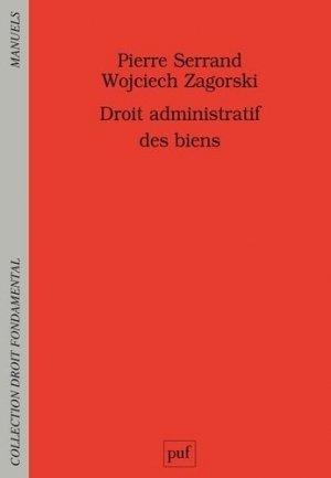 Droit administratif des biens - puf - presses universitaires de france - 9782130829065 -