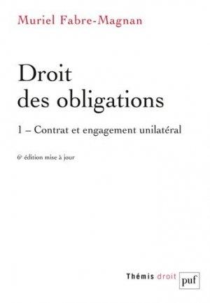 Droit des obligations - puf - presses universitaires de france - 9782130829874 -