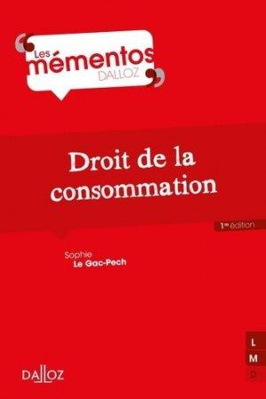 Droit de la consommation - dalloz - 9782247139767 -