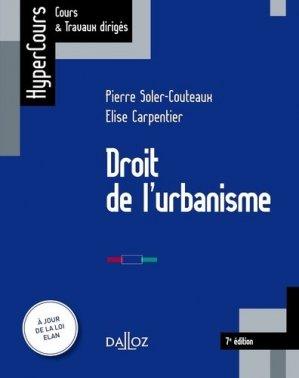 Droit de l'urbanisme - dalloz - 9782247178308 -