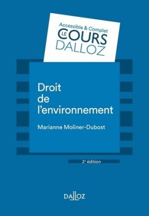 Droit de l'environnement - dalloz - 9782247187195 -