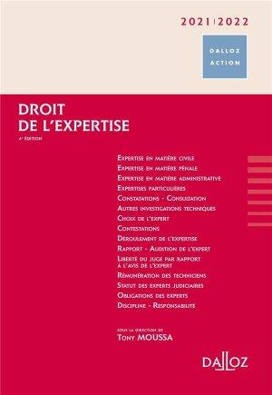 Droit de l'expertise. Edition 2020-2021 - dalloz - 9782247187478 -