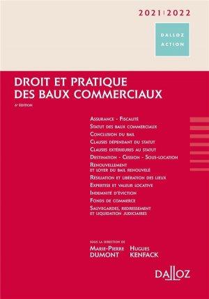 Droit et pratique des baux commerciaux. Edition 2020-2021 - dalloz - 9782247187515 -