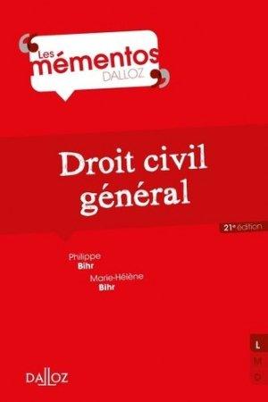 Droit civil général. 21e édition - dalloz - 9782247189090 -