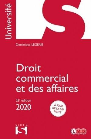 Droit commercial et des affaires. Edition 2020 - dalloz - 9782247189236 -
