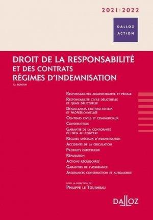 Droit de la responsabilité et des contrats 2020/2021 - 12e ed.. Régimes d'indemnisation, Edition 2020-2021 - dalloz - 9782247198054 -