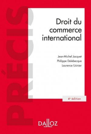 Droit du commerce international - dalloz - 9782247207565 -
