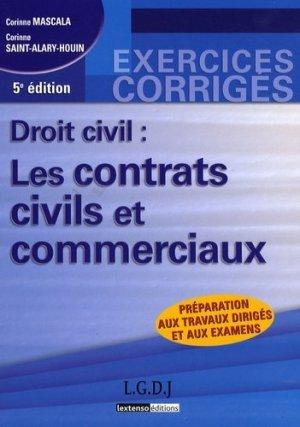 Droit civil : les contrats civils et commerciaux. 5e édition - LGDJ - 9782275033044 - majbook ème édition, majbook 1ère édition, livre ecn major, livre ecn, fiche ecn