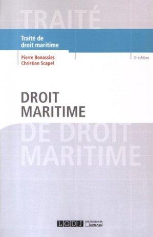 Droit maritime - lgdj - 9782275038766 -