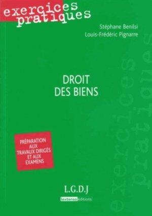 Droit des biens - LGDJ - 9782275038940 -