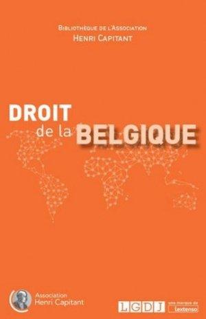 Droit de la Belgique - LGDJ - 9782275053196 -
