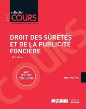 Droit des sûretés et de la publicité foncière. 3e édition - LGDJ - 9782275056128 -