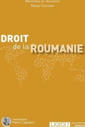 Droit de la Roumanie - LGDJ - 9782275057057 -
