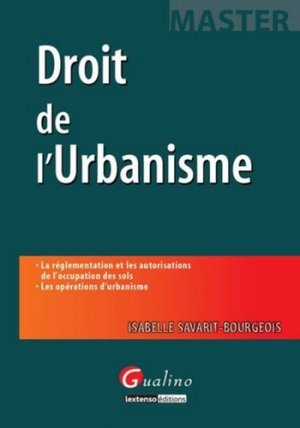 Droit de l'urbanisme - gualino - 9782297013925 -