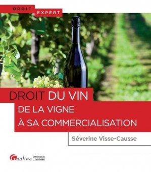 Droit de la vigne et du vin - gualino - 9782297061001 -