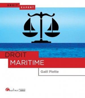 Droit maritime - gualino - 9782297067270 -