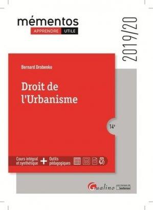Droit de l'urbanisme - gualino - 9782297074209 -