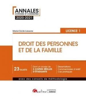 Droit des personnes et de la famille - gualino - 9782297091268 -