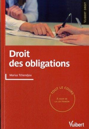 Droit des obligations - Vuibert - 9782311007459 -