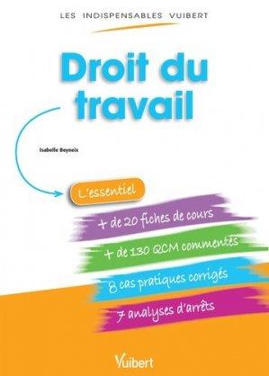 Droit du travail - Vuibert - 9782311012958 -