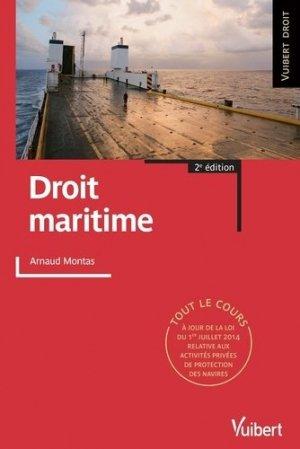 Droit maritime - vuibert - 9782311402506 -