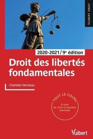 Droit des libertés fondamentales - vuibert - 9782311407297 -