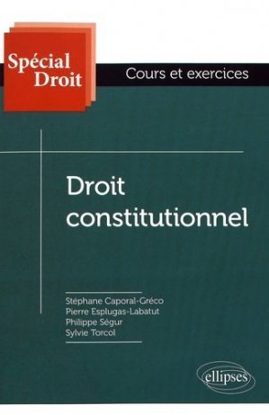 Droit constitutionnel - Ellipses - 9782340015760 -
