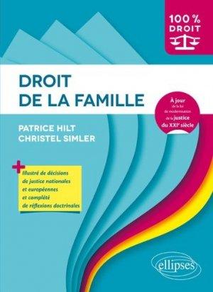 Droit de la famille - Ellipses - 9782340023895 -