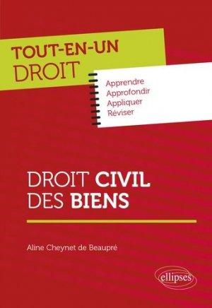 Droit civil des biens - Ellipses - 9782340033207 -