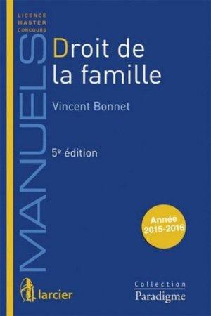 Droit de la famille. 5e édition - Larcier - 9782350209999 -