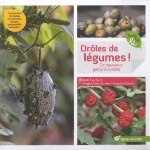 Drôles de légumes - terre vivante - 9782360982592 -