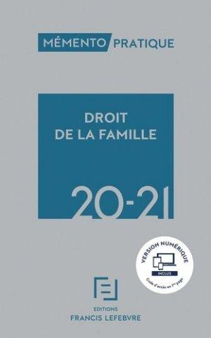 Droit de la famille. Edition 2020-2021 - Francis Lefebvre - 9782368935057 -