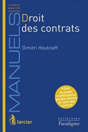 Droit des contrats - Bruylant - 9782390130598 -