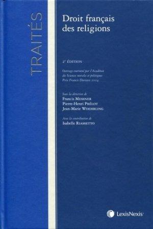Droit français des religions. 2e édition - lexis nexis (ex litec) - 9782711012060 -