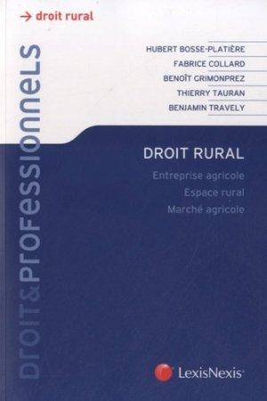 Droit rural - lexis nexis (ex litec) - 9782711017898 -