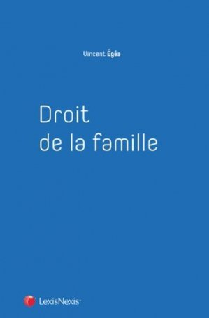 Droit de la famille - lexis nexis (ex litec) - 9782711020638 -