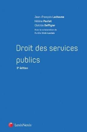 Droit des services publics - lexis nexis (ex litec) - 9782711029440 -