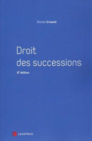 Droit des successions - lexis nexis (ex litec) - 9782711034253 -