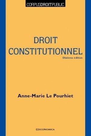 Droit constitutionnel - Economica - 9782717871357 -